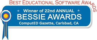 Best Online Literacy Solution at BESSIE Awards Logo